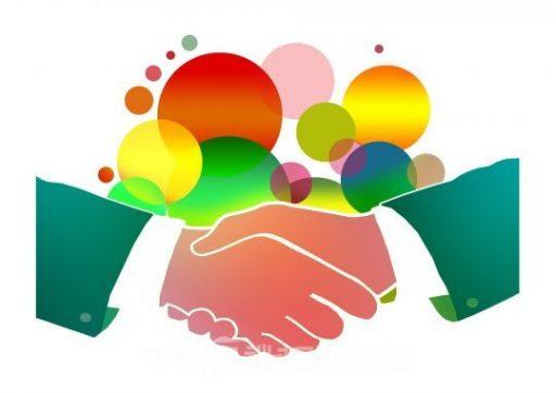 Illustration rencontre syndicale, réunion